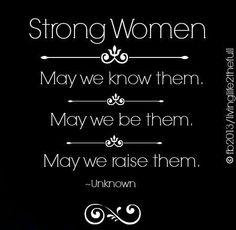Raising my girls to be strong women!