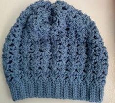 Free crochet pattern: XO slouchy beanie
