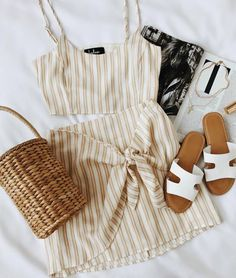 two piece set perfect for summer #summerfashion