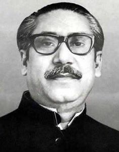 Sheikh Mujibur Rahman, the first President of Bangladesh (died 15 August was the husband of Sheikh Fazilatunnesa Mujib. He was assassinated with his wife and three sons. Father of Sheikh Hasina Wajed Concert For Bangladesh, Yonsei University, East Pakistan, Freedom Fighters, Biography, Documentaries, Adobe Photoshop, Photoshop Design, 26 March