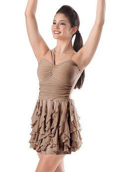 Cascade Ruffle Dress - Balera $40