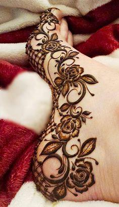 Pretty Henna Designs, Modern Henna Designs, Henna Designs Feet, Floral Henna Designs, Latest Bridal Mehndi Designs, Full Hand Mehndi Designs, Mehndi Designs 2018, Mehndi Designs For Beginners, Wedding Mehndi Designs