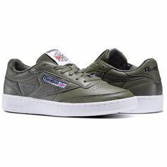 New Men s REEBOK Classics CLUB C 85 SO Sneaker - BS5211 - HUNTER GREEN   Reebok  RunningCrossTraining 809db71bd