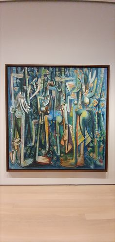 Wilfredo Lam, The Jungle, Guache on paper mounted on canvas. pic by Moma Collection, Guache, Contemporary Art, Nyc, Canvas, Paper, Artwork, Art Work, Work Of Art