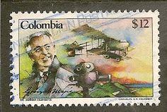Colombia Scott 941 Industrialist Used - bidStart (item 59097397 in Stamps... Colombia)