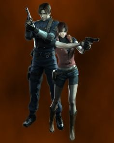 Leon Scott & Claire Redfield