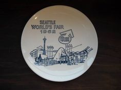 SEATTLE WORLD'S FAIR 1962 Century 21 万国 博覧会 プレート