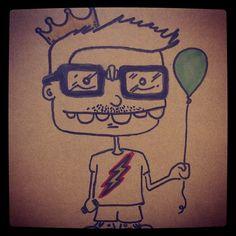 nerd king, pk stuff