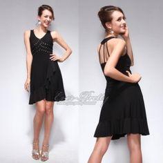 Ever-Pretty Sexy Sequin Little Black Dress $29.99 #blackdress #sequins #lbd