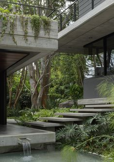 Entreparotas House in Colima, Mexico designed by Di Frenna Arquitectos - - . - Entreparotas House in Colima, Mexico designed by Di Frenna Arquitectos – – - Tropical Architecture, Beautiful Architecture, Contemporary Architecture, Landscape Architecture, Landscape Design, Sustainable Architecture, Contemporary Houses, Ancient Architecture, Urban Landscape