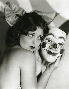 bluehour studio: Creepy Vintage Halloween Masks are here!