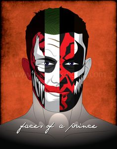 Prince Devitt aka Finn Bálor, the Real RocknRolla  Comes in the following sizes: -Postcard (5x6.3 inches) -8.5x11 inches with 1/8 inch margin