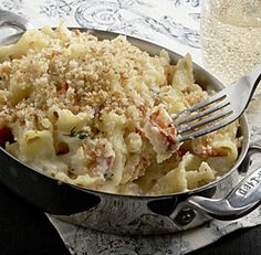 Creamy Macaroni & Cheese with Lobster