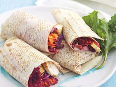 Quick, easy and healthy - a wrap may just be the ultimate lunch! Whether you're hungry for chicken, beef, tuna or a vegetarian bite, these wrap recipes are sure to go down a treat on your lunch break.