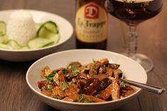 Recipes with La Trappe - La Trappe Trappist Ale, Meat, Chicken, Recipes, Food, Ale Beer, Essen, Eten