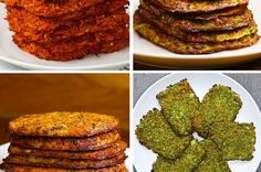Veggie Hash Browns 4 Ways