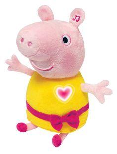 Говорящая плюшевая свинка Пеппа