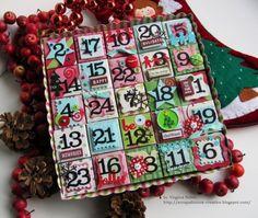 Amazing Advent Calendars  By Virginia Nebel