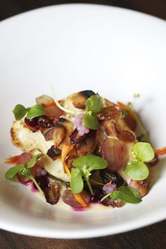 The championing of vegetables and the pursuit of exotic ingredients is a bit of a thing at Beaconsfield restaurant O. Best Dishes, Culinary Arts, Food Plating, Fine Dining, Risotto, Exotic, Vegetarian, Restaurant, Vegetables