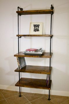 turntable and LP storage - Google Search Moderno 2cc108065ad3