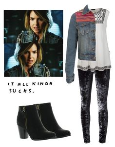 """Malia Tate - tw / teen wolf"" by shadyannon ❤ liked on Polyvore featuring Koral, Reneeze, Ally Fashion and Pilot"