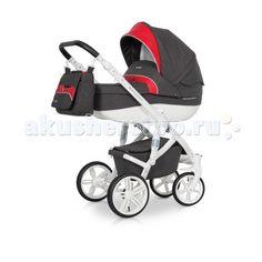 Коляска Expander Vanguard 2 в 1  Коляска Expander Vanguard 2 в 1 современная коляска в оригинальном стильном дизайне, обладает отменными эксплуатационными качествами и высочайшей надежностью, гарантирует удобство не только ребенку, но и родителям.   Коляска Vanguard укомплектована комфортной люлькой и прогулочным блоком, которые легко устанавливаются на раму, как по ходу, так и против хода движения, т.е. «лицом к маме».   Люлька коляски просторная, обтекаемой формы позволит малышу…