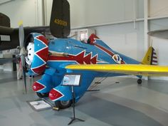 P-26D Peashooter -Designed and built by Boeing, the prototype first flew in 1932, and the type was still in use with the U.S. Army Air Corps as late as 1941 in the Philippines.