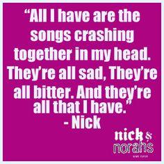 Nick And Norahs Infinite Playlist.