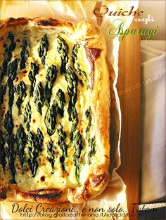 Ricetta con asparagi Quiche di asparagi