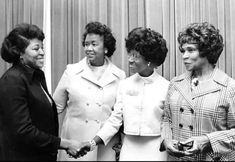 Civil Rights Warriors - Betty Shabazz, Dorothy Height, Shirley Chisholm, and Marian Anderson Dorothy Height, Betty Shabazz, Shirley Chisholm, African Diaspora, We Are The World, Great Women, Amazing Women, Black Girls Rock, Before Us