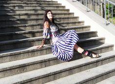 Striped Pants, New Look, Fashion, Moda, Stripped Pants, Fashion Styles, Striped Shorts, Fashion Illustrations, Stripe Pants