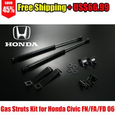 Gas Struts Kit for Honda Civic FN/FA/FD 06- – Autobahn88 – DAMP05-Free Shipping