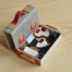 А диван захотелось сделать угловым :) #моиработы #хэндмейд #миниатюра #спичечныйкоробок #домик #комнатка #избумаги #ручнаяработа #dalwen_handmade #handmade #art #craft #creative #miniature #minihouse #minifurniture #matchesbox #design #интерьер #диваны #кресла #мебель #sweethome #чудеса #tinyroom #tinyworld #tinyhouse #tiny #tinyfurniture