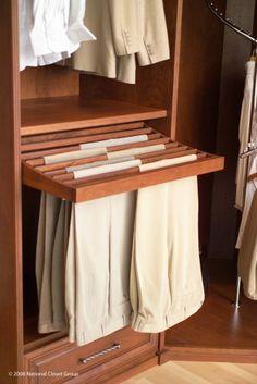 Siena Collection contemporary closet