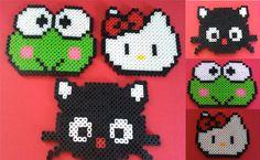 Sanrio Perler Collection (Hello Kitty,etc) by ~AlexxStar on deviantART
