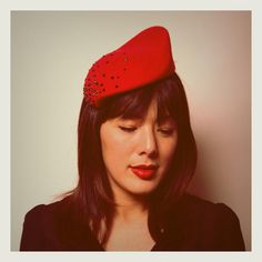 Ladybird headpiece | Awon Golding Millinery