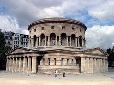 Rotonde de la Villette or Barrière Saint-Martin, place de la Bataille-de-Stalingrad, Paris