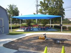 come relax under the shade after a fun day at the park! #canopies #awnings #shadestructures