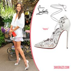 Christian Louboutin Spring 2014 Impera Laser-Cut Pumps