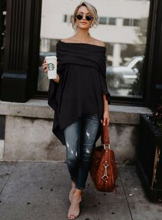 women-s-off-shoulder-slit-irregular-loose-fit-tee