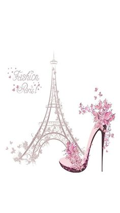 Celular Beautiful Paris, I Love Paris, Paris Party, Paris Theme, Paris Room Decor, Eiffel Tower Art, Paris Illustration, Paris Mode, Paris Wallpaper