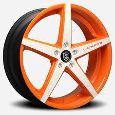 Lexani R-Four R04 Orange White