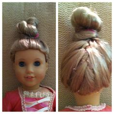 American Girl Hair Styles Perfectly Piper Doll Couture Plus AG - American girl doll hairstyle ideas