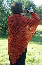 Ravelry: Greek Revival Shawl pattern by Elaine Phillips