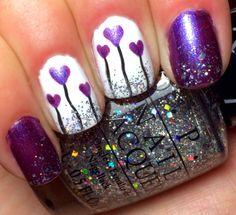 Nails by an OPI Addict: valentine #nail #nails #nailart