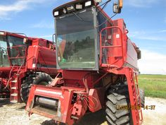 Case International 1640 axial flow