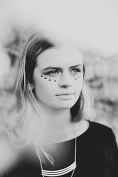 3 Last-Minute Makeup Ideas For Halloween | Free People Blog #freepeople