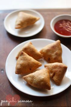 Punjabi Samosa -- My personal choice will always be a punjabi (pea & potato) samosa. the filling for a punjabi samosa also has to be equally good. i have mentioned two potato-peas stuffings in the recipe details.