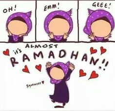 It's almost Ramadhan!!