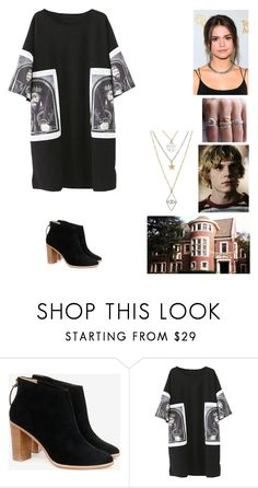 """The Devils Ballot"" by ariacarrow ❤ liked on Polyvore featuring Ted Baker, Langdon, ahs and tatelangdon"